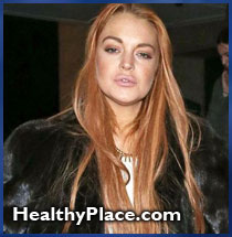 What's wrong with the advice that people offer to Lindsay Lohan on drinking and addictions.