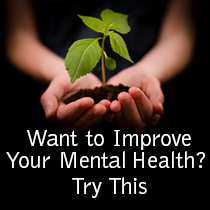 Improving your mental health is always challenging when you live with a mental illness. Get simple ideas that produce big results. Read this.