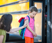School is a common cause of separation anxiety, click to read 3 suggestions on how to ease school-related separation anxiety at HealthyPlace