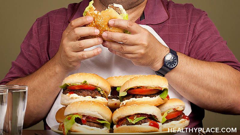 What is binge eating disorder? Learn about causes, treatments, recovery from compulsive overeating aka binge eating disorder at HealthPlace.