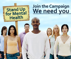 Join the Stand Up for Mental Health Stigma Campaign