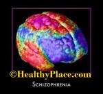 Development of Schizophrenia may be a result of a defect in brain chemistry - the neurotransmitters dopamine and glutamate.