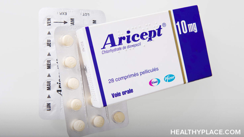 Detailed information on Aricept, a medication used in the treatment of Alzheimer's Disease. Usage, dosage, side-effects and more.