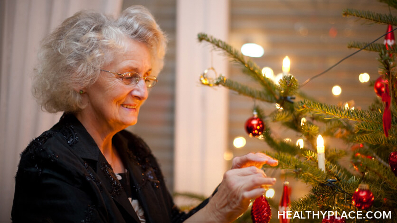 The holidays can be a stressful time for Alzheimer's patients and their caregivers. Learn some things to consider to help relieve the stress at HealthyPlace.