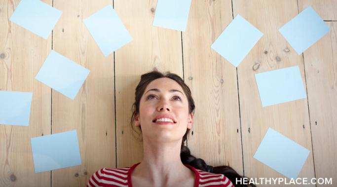 Disputing thoughts that bring you down can help you form healthy self-esteem and a positive attitude. Learn more about disputing thoughts at HealthyPlace.