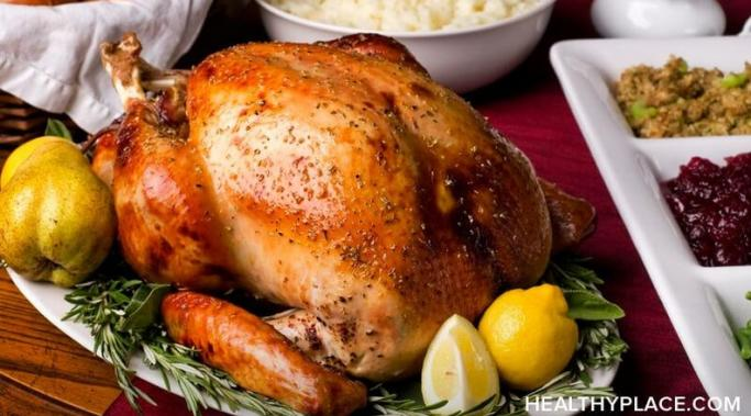 How do you get through Thanksgiving in eating disorder recovery? Get 5 tips to apply to any holiday meal that keeps your ED recovery priority at HealthyPlace.