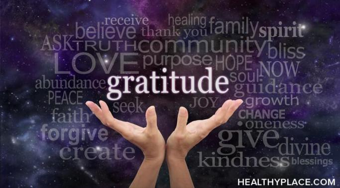 Gratitude helps anxiety. Gratitude lets you shift thoughts and feelings away from anxiety and replace them with appreciation and action. Learn more at HealthyPlace.