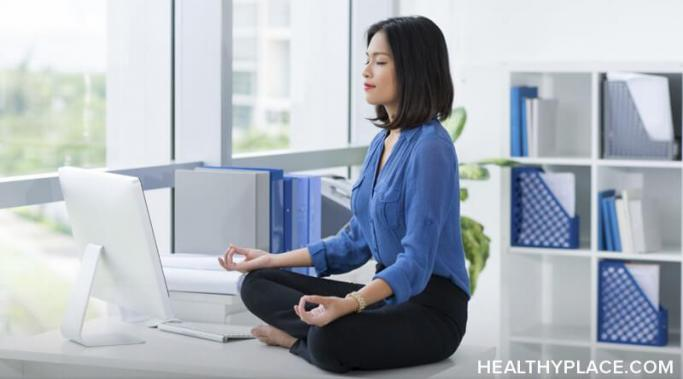Finding ways to relax and recharge on your work breaks can help relieve anxiety and depression that followed you to work. Learn about things to do at HealthyPlace.