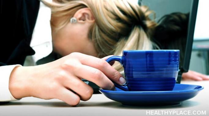 Fatigue at work due to depression is a common problem, but that doesn't make it any less troublesome. You can successfully manage fatigue at work using these long-term and quick fix tips to deal with it on HealthyPlace. Take a look.