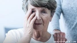Get an explanation of delusions and how to help the person with Alzheimer's suffering from a delusion at HealthyPlace.
