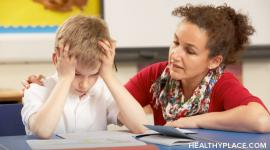 Focus on the important role of parents in helping ADHD children have a positive educational experience.