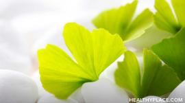 Overview of ginkgo biloba as a natural remedy for depression and whether ginkgo biloba works for treatment of depression.