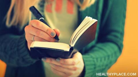 Writing can help in your mental illness recovery Use these four writing ideas that can make a positive difference in your recovery from mental illness at HealthyPlace.
