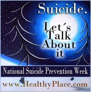 Suicide. Let's Talk About It.
