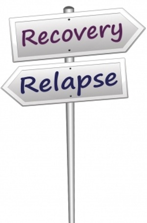 Eating disorder relapse is common in eating disorder recovery.
