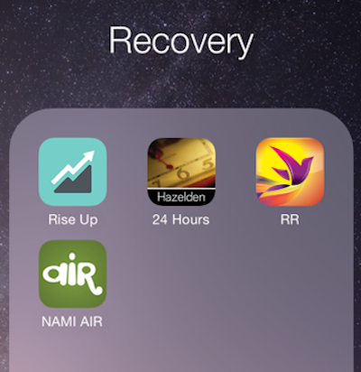 Smartphones offer a lot of apps to help those in recovery from an eating disorder. Not using apps in your eating disorder recovery now? Here are some to try.