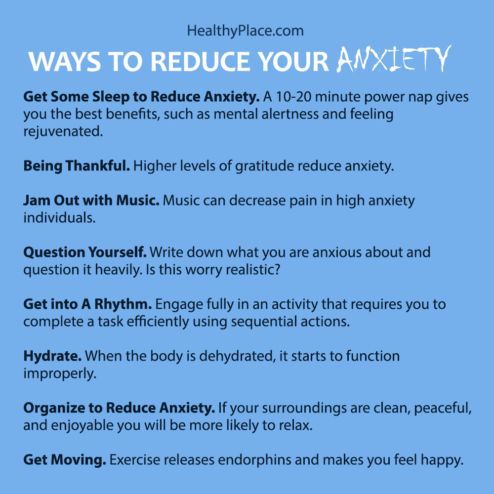 Reduce your anxiety now, no more suffering. Read this.